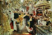 Valentin Serov Coronation of Nicholas II of Russia oil painting picture wholesale